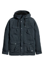 Padded parka - Dark blue - Men | H&M CN 2