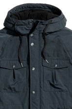 Padded parka - Dark blue - Men | H&M CN 4