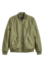 Bomber jacket - Khaki green - Men | H&M GB 2