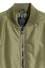 Bomber jacket - Khaki green - Men | H&M CN 3