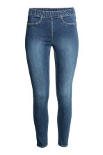 Denim leggings - Denim blue - Ladies | H&M GB 3