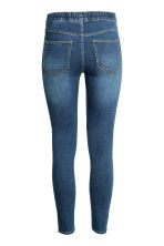 Denim leggings - Denim blue - Ladies | H&M CN 3