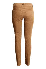 Corduroy trousers - Dark brown - Ladies | H&M CN 3