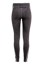Winter running tights - Dark grey marl - Ladies | H&M CA 3
