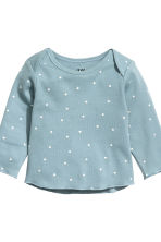 Top and leggings - Light petrol/Spotted -  | H&M CN 3