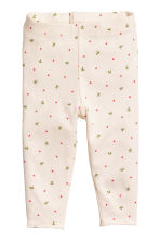 Top and leggings - Natural white/Floral - Kids | H&M CN 2