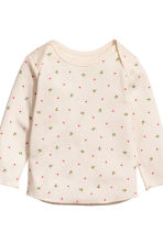 Top and leggings - Natural white/Floral - Kids | H&M CN 3