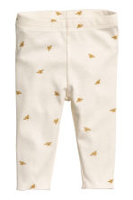 Top and leggings - Natural white -  | H&M CN 2