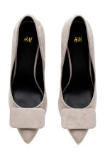Court shoes - Light mole -  | H&M GB 2