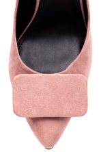 Court shoes  - Powder pink -  | H&M CN 4