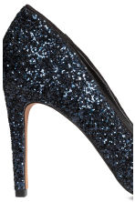 Court shoes  - Dark blue/Glitter -  | H&M GB 5