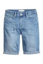 Long denim shorts - Denim blue - Ladies | H&M GB 2