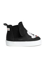 Printed trainers - Black/Mickey Mouse - Kids | H&M CN 2