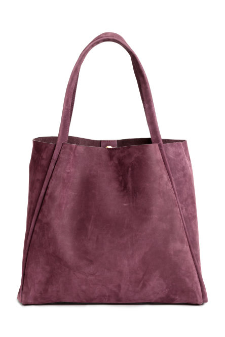 Nubuck shopper