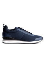 Mesh trainers - Dark blue - Men | H&M CN 1