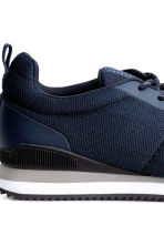 Mesh trainers - Dark blue - Men | H&M CN 4