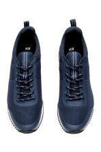 Mesh trainers - Dark blue - Men | H&M CN 2