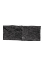 Hairband - Dark grey marl - Ladies | H&M CN 2