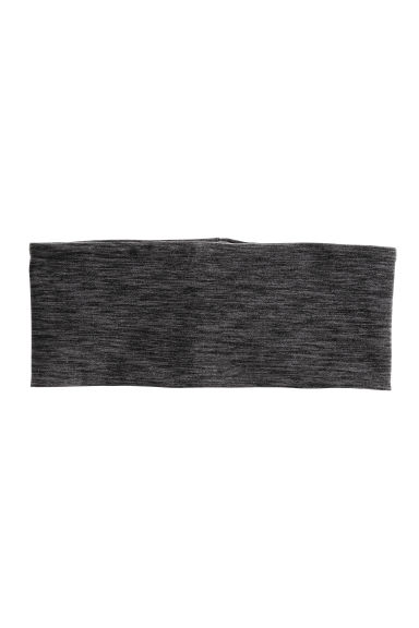 Hairband - Dark grey marl - Ladies | H&M CN 1