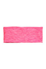 Hairband - Neon pink marl - Ladies | H&M CN 1