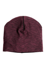 Running hat - Burgundy marl - Ladies | H&M CN 1