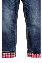 Tapered Lined Jeans - Blu denim scuro - BAMBINO | H&M IT 4