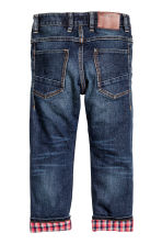Tapered Lined Jeans - Blu denim scuro - BAMBINO | H&M IT 3