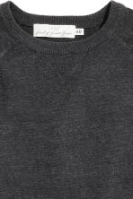 Fine-knit jumper - Black marl - Men | H&M CN 3