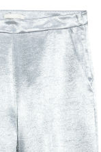 Wide trousers - Silver -  | H&M CN 3