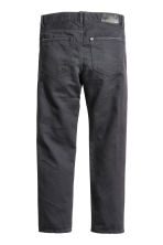 Cotton trousers - Black washed out - Kids | H&M CN 3