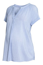 MAMA Striped blouse - Blue/White - Ladies | H&M CN 2