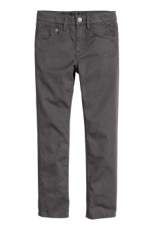Generous fit Twill trousers