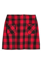 A-line skirt - Red - Ladies | H&M CN 2