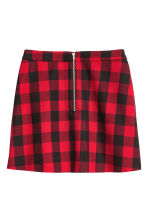 A-line skirt - Red - Ladies | H&M CN 3