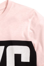 Printed T-shirt - Light pink/New York - Kids | H&M CN 3