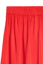 Skirt with a slit - Red - Ladies | H&M CN 3