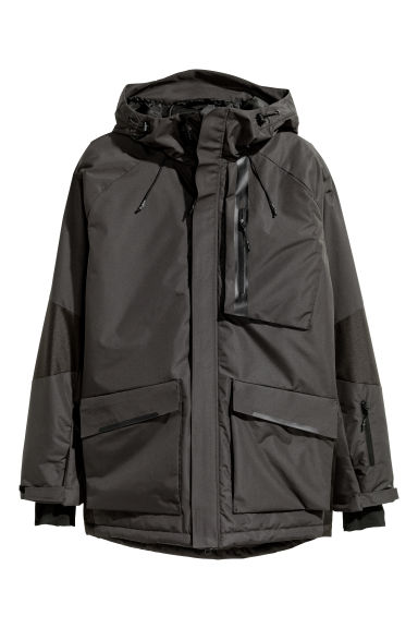 Padded ski jacket - Black -  | H&M CN