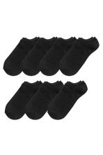 7-pack trainer socks - Black - Men | H&M 1