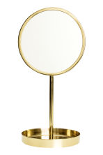 Round table mirror - Gold - Home All | H&M CN 1