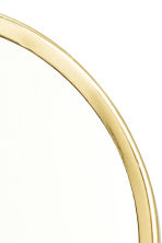 Round table mirror - Gold - Home All | H&M GB 3