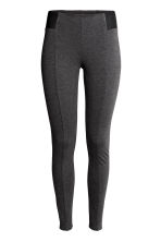 Leggings  - Dark grey marl - Ladies | H&M CN 2