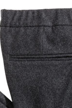 Suit trousers Slim fit - Dark grey - Men | H&M CN 4