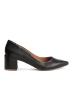 Block-heel court shoes - Black - Ladies | H&M CN 2
