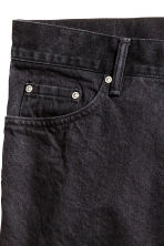 Slim Regular Tapered Jeans - Nearly black - HOMEM | H&M PT 4