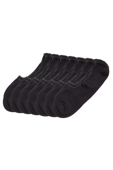 7-pack shaftless socks - Black - Men | H&M CN 1