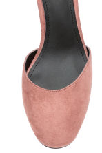 Ankle-strap court shoes - Powder pink - Ladies | H&M GB 4