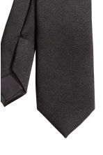Satin tie - Black - Men | H&M CN 3