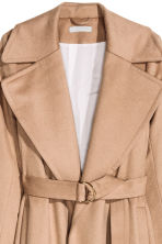 Wool-blend coat - Beige - Ladies | H&M CN 4