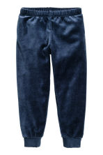 Velour pyjamas - Dark blue - Kids | H&M CN 2