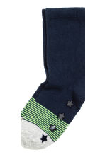 5-pack anti-slip socks - Dark blue/Striped - Kids | H&M CN 2